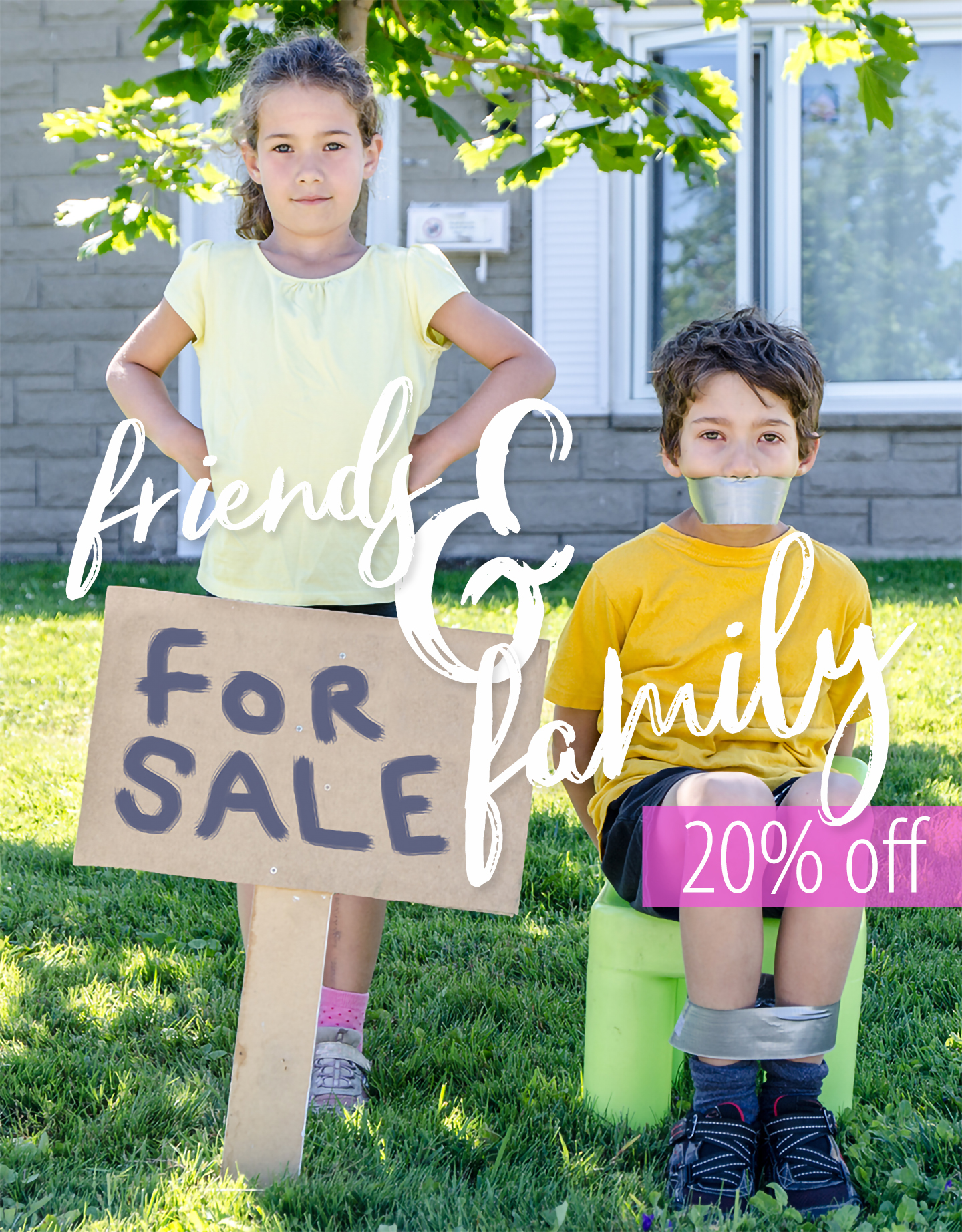 Family & Friends 20% off discount